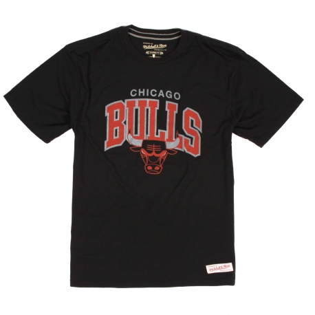 MITCHELL & NESS TEAM ARCH TEE TRAD CHICAGO BULLS
