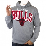MITCHELL & NESS  TEAM ARCH HOODED CHICAGO BULLS