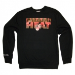 MITCHELL & NESS TEAM SHADOW MIAMI HEAT SWEAT
