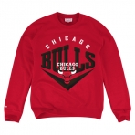 Mitchell & Ness Beveled Crew Chicago Bulls