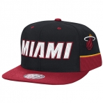 Mitchell & Ness Team Short Snapback Miami Heat