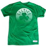 Mitchell & Ness Gradient Infill Traditional Tee Boston Celtics