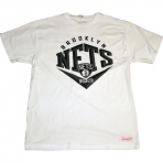 Mitchell & Ness Beveled Traditional Tee Brooklyn Nets