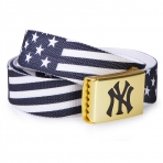 MLB Flag Belt Black