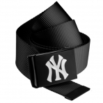 MasterDis MLB NY Yankees Premium Black/Grey Woven Belt Single
