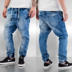 Just Rhyse Cool Straight Fit Jeans Dark Blue