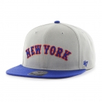 MLB New York Mets Script Side 2 Tone '47 Captain