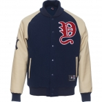 Majestic Melton Wool Letterman Jacket NY Yankees