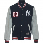 Majestic Fleece Letterman Jacket NY Yankees