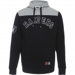 Majestic Cut & Sew Hooded Sweat Oakland Raiders