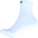 Basketbalové ponožky PEAK krátke biele