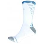 Basketbalové ponožky PEAK FIBA WORLD CUT stredné biele