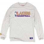 Mitchell & Ness Tričko s dlhým rukávom Team Issued NBA - LA Lakers
