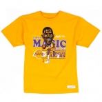 MITCHELL & NESS MAGIC JOHNSON CARICATURE TEE