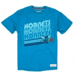 MITCHELL & NESS NO HORNETS NBA REPEAT TEE