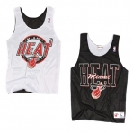 MITCHELL & NESS MIAMI HEAT REVERSIBLE MESH TANK