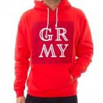GRIMEY WEAR mikina GRMY HOODIE RED