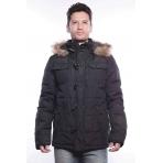 MZGZ zimná bunda Laser čierna