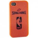 Spalding iPhone case silicone orange 4 and 4s