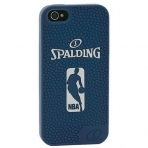 Spalding iPhone case silicone navy 5
