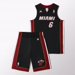 ADIDAS detský set NBA Miami Heat
