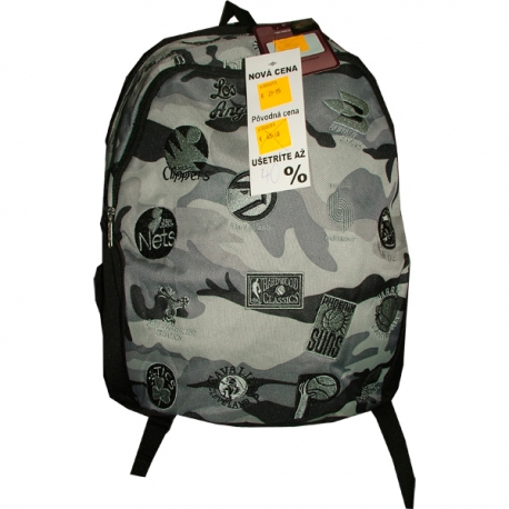 ABI NBA BACK PACK SILVER