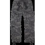 BRANDIT nohavice Pure Vintage tmavý maskáč