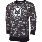 Zoo York Street League Crew Sweat Black Camo