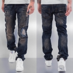 Cazzy Clang Shattered Straight Fit Jeans