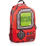 Sprayground Pixel Game Over Red Backpack
