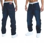 Rocawear Stay True Injection Denim Pants Dark Night Blue