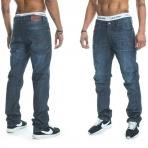 Rocawear Stay True Injection Denim Pants Raw Indigo
