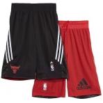 ADIDAS Detské obojstranné šortky NBA CH Bulls