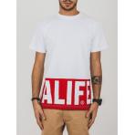 ALIFE NYC Blocked Logo Tee White