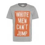 Shine Tričko White Men Can T Jump Šedé