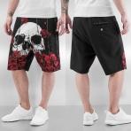 Dangerous DNGRS Skull Shorts Black