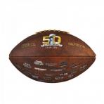 WILSON NFL SUPER BOWL 50 COMPOSITE FOOTBALL
