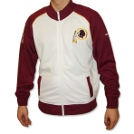 MAJESTIC HANGTIME TRACK JACKET WASHINGTON REDSKINS