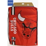 Forever Collectibles Cropped Logo Drawstring Bag NBA Chicago Bulls
