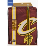 Forever Collectibles Cropped Logo Drawstring Bag NBA Cleveland Cavaliers