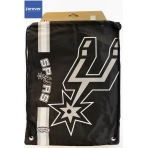 Forever Collectibles Cropped Logo Drawstring Bag NBA San Antonio Spurs