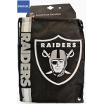 Forever Collectibles Cropped Logo Drawstring Bag NFL LA Raiders