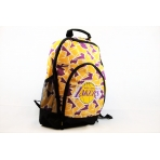 Forever Collectibles Camouflage Back Pack NBA LA Lakers