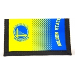 FOREVER COLLECTIBLES NBA FADE WALLET - GOLDEN STATE WARRIORS