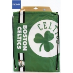 Forever Collectibles Cropped Logo Drawstring Bag NBA Boston Celtics