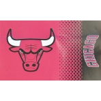 FOREVER COLLECTIBLES FADE FLAG CHICAGO BULLS
