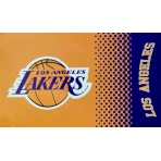 FOREVER COLLECTIBLES FADE FLAG LOS ANGELES LAKERS