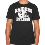 MAJESTIC PITCHOUT T-SHIRT OAKLAND RAIDERS NFL TEE