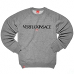 Kream Verfuckinsace Crewneck grey