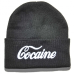 Kream Cocaine Beanie black